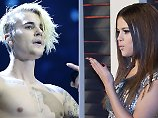 Kreisch!: Justin Bieber knutscht mit Selena Gomez