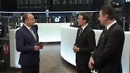 n-tv Zertifikate Talk: Dax, Öl und Euro – runter, rauf und seitwärts?