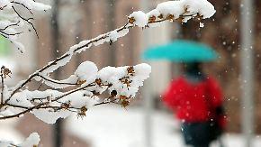 Schneegestöber über 500 Metern: Milderes Wetter nimmt Kurs auf Deutschland