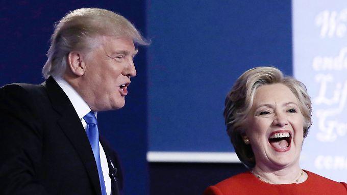 Wähler von Trump und Clinton gelten als verfeindet - ein Institut setzt sie wieder an einen Tisch.