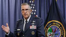 """""""Sind keine dummen Menschen"""": US-General würde Atombefehl verweigern"""