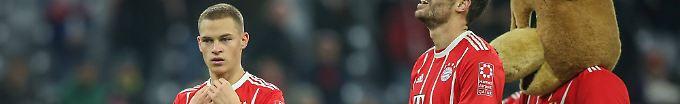 Der Sport-Tag: 16:57 Kimmich stellt Bundesliga-Sieg-Rekord auf
