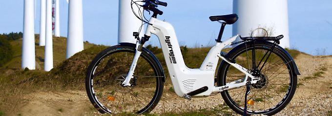 Alpha 2.0 heißt das Wasserstoff-Pedelec der französischen Firma Pragma Industries.