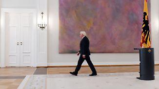 Merkel bereit für Neuwahlen: Jetzt ist Steinmeier gefragt