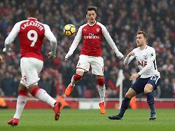 Tee trinken mit Mesut Özil: Arsenals Twitter-Scherz geht kräftig daneben