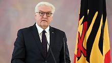 Das Land braucht eine handlungsfähige Regierung. Frank-Walter Steinmeier muss viele Gespräche führen.