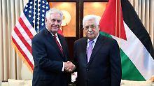 Nach Schließung von PLO-Büro: Palästinenser setzen Treffen mit USA aus