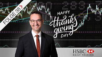 S&P 500 und EUR/JPY im Chart-Check: Kursgewinne um Thanksgiving?
