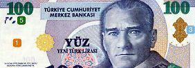 Währungskrise in der Türkei: Türkische Lira fällt ins Bodenlose