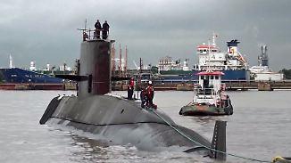 Reserven vermutlich aufgebraucht: Vermisstem U-Boot geht der Sauerstoff aus