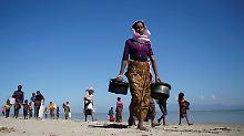 Flüchtlinge in Bangladesch: Myanmar akzeptiert Rückkehr der Rohingya