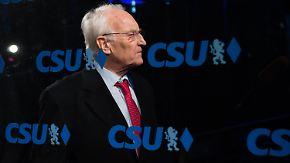 Stoiber, Waigel, Stamm: CSU-Trio soll im Machtkampf vermitteln