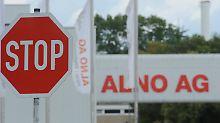 Aus und vorbei bei Alno.