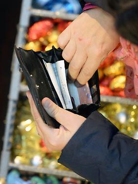 Cash bleibt bei Verbrauchern beliebt.