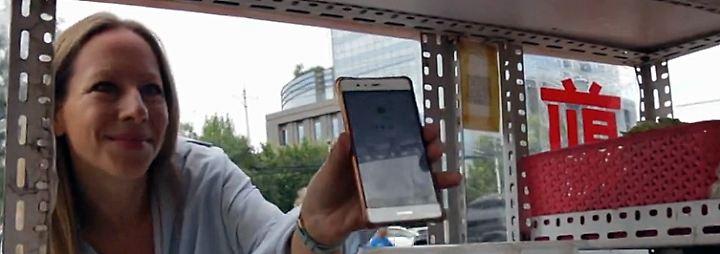 Bezahlen per App: In China wird kaum noch Bargeld genutzt