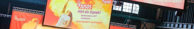 """Der Tag: 19:48 Kühnert wird neuer Juso-Chef und hat """"die Schnauze voll"""""""