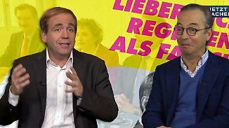 """""""Kennt man nur vom rechten Rand"""": Fleischhauer und Kuzmany über geplatzte Jamaika-Koalition"""