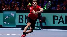 Der Sport-Tag: Sensations-Finalist Belgien wahrt Titelchance im Davis Cup