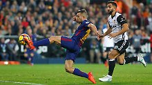 Messi wird klares Tor geklaut: FC Barcelona rettet Remis gegen Valencia