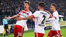 """Der Sport-Tag: """"Geltendes Recht"""": HSV-Talent Arp darf spielen"""