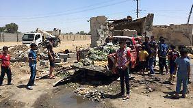 Nahrawan liegt etwa 35 Kilometer südöstlich von Bagdad.