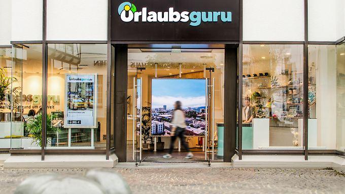 Urlaubsguru hat in Unna sogar einen Store eröffnet. Eher untypisch, weil die Nutzer online buchen.