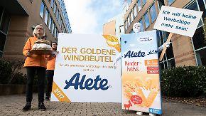 """Kinderkeks mit 25 Prozent Zucker: Alete tischt die """"Werbelüge des Jahres"""" auf"""