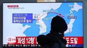 """""""Das ist ein kriminelles Regime"""": Nordkoreanischer Raketentest sorgt weltweit für Empörung"""