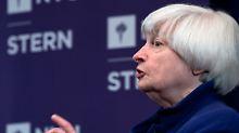Janet Yellen tritt im Februar als Fed-Chefin ab.