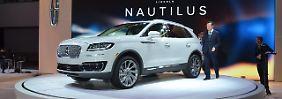 Der Lincoln Nautilus ist ein wirklich schickes SUV, dass auch neben einem Mercdes GLC oder BMW X3 bestehen kann.