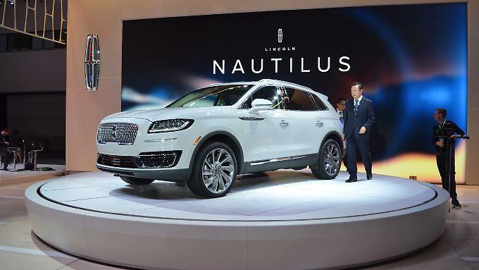 Der Lincoln Nautilus ist ein wirklich schickes SUV, das auch neben einem Mercedes GLC oder BMW X3 bestehen kann.