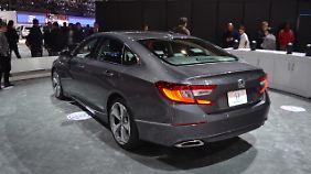 Aus Europa verschwand der Honda Accord, weil ihn keiner kaufte.