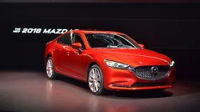 Die Neuerungen am Mazda 6 sind auf den ersten Blick nicht zu erkennen.