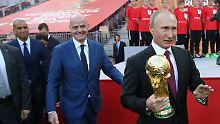 Fifa bangt um Premiumprodukt: WM-Debütant Infantino lächelt die Kritik weg