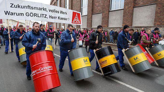 An vielen Standorten von Siemens gibt es nach dem angekündigten Stellenabbau Proteste.