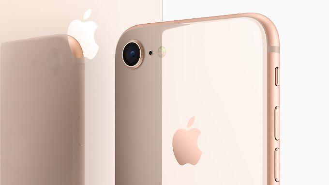 Auch ein iPhone 8 kriegt man für 750 Euro.