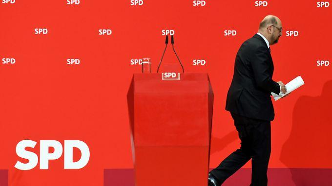 Der Vorhang fällt und alle Fragen offen: Die SPD braucht weiter Zeit.