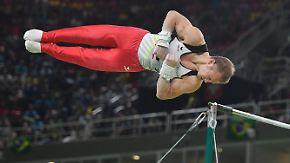 Olympiasieger, Weltmeister, Europameister: Fabian Hambüchen setzt zur letzten Landung an
