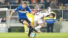 Last-Minute-K.o. für Lautern: Arminia Bielefeld überrollt St. Pauli