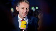 """Björn Höcke zu möglichem Vorsitz: """"Ich muss nicht im Bundesvorstand sein"""""""