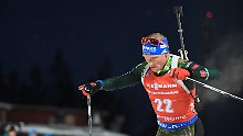 Patzer mit der letzten Patrone: Lesser schießt am Biathlon-Coup vorbei