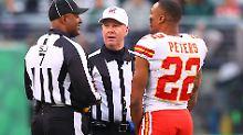 Der Sport-Tag: NFL-Star verliert die Nerven und führt Schiedsrichter vor