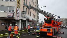 Tödlicher Brand in Saarbrücken: Mieterin zündete wohl Kissen an