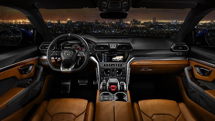 Schalter und Tochscreens stammen aus dem Audi A8.