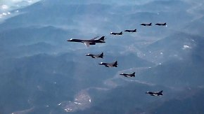 Großes Militärmanöver im Pazifik: USA entsenden Langstreckenbomber nach Südkorea