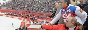 """Trotz """"politischen"""" IOC-Urteils: Putin schließt Olympia-Boykott aus"""