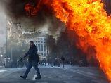 Tödlicher Schuss jährt sich: Schülerdemonstration in Athen eskaliert