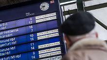 Zugverspätung bei höherer Gewalt: EU will Bahn-Entschädigungen einschränken
