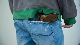 Die USA lockern das eigene Waffengesetz.