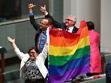 """Der Tag: Australien beschließt Einführung der """"Ehe für alle"""""""